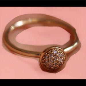 Pandora 14K Gold Droplets Ring
